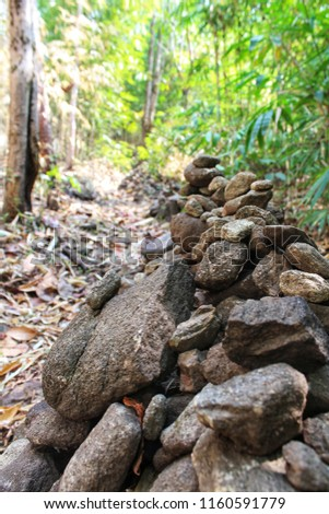 nature, background, rock, natural, up, stone, pile, overlap, closeup, water, shape, outdoor, gray, stack, pebble, beautiful, design, green, stones, various, color, shattered, overlapping, abstract, re #1160591779