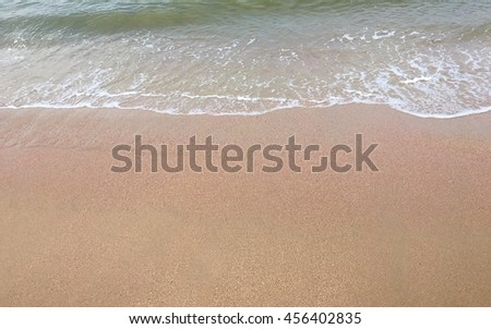 Nature background with sand beach #456402835