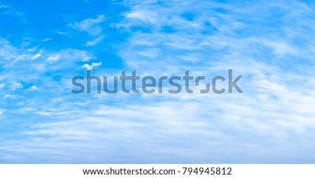 Nature cloud landscape