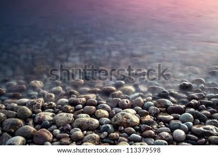 stock photo nature composition of sunset 113379598 - Каталог — Фотообои «Природа, пейзаж»