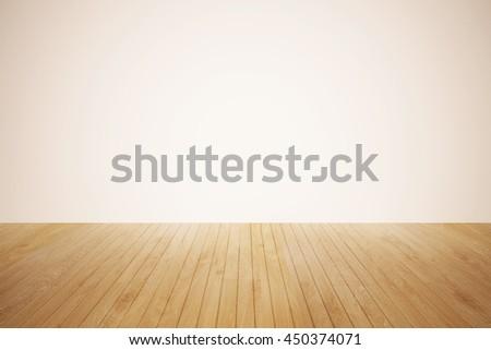 Nature Good Perspective Warm Wooden Floor Texture Ez Canvas