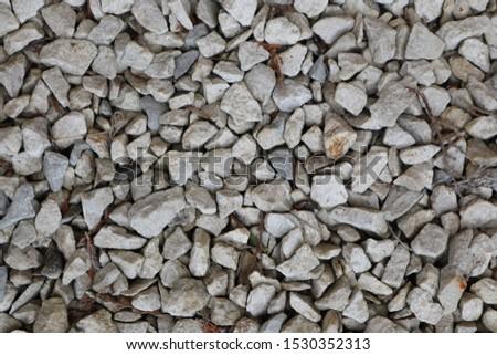 Nature grey material stones material