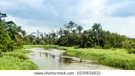 nature in Ivory Coast #1039836832