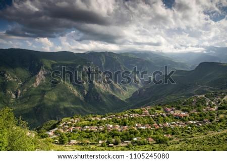 nature in Tatev area in remote Armenia