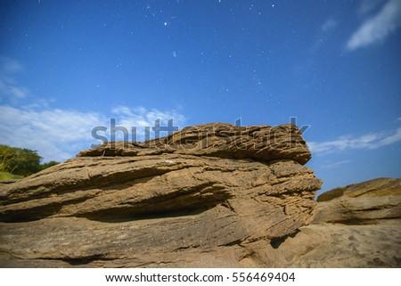 Nature Landscape, Nature, Landscape, nature landscape, nature, landscape, Stone night sky #556469404