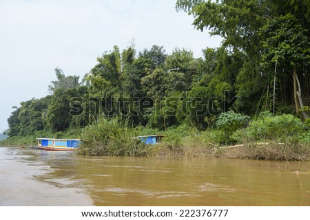 Nature of the Mekong river in Asia #222376777
