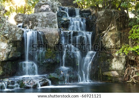 nature of water fall