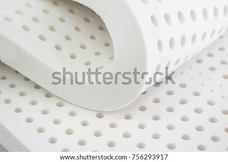 nature para latex rubber, pillow and mattress material ストックフォト ©