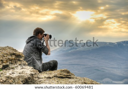 Nature Photographer Nature photographer with