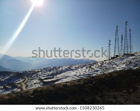 Nature Snow Mountains Trees Hills