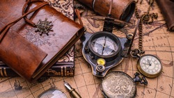 Nautical Compass Pirate Vintage Collection