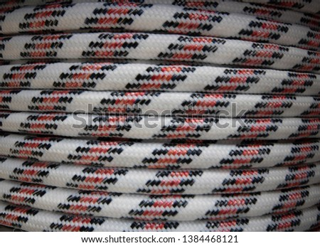 Nautical Rope, Rope Rope Reel Colorful Ropes #1384468121