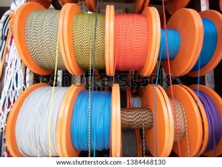 Nautical Rope, Rope Rope Reel Colorful Ropes #1384468130