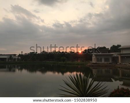 Nautical twilight on sunday evening