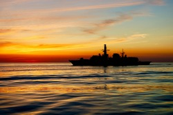 Naval Images Backgrounds of Royal Navy and Other naval vessels while on deployment worldwide