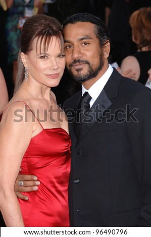 Naveen Andrews Wife Naveen andrews & wife barbara