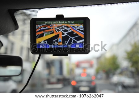 Navigation while driving in Cork