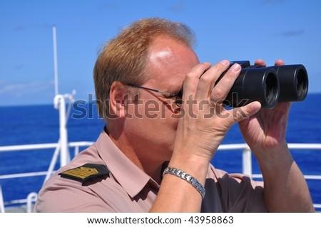 navigator - stock photo