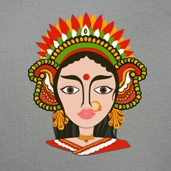 Navratri, Druga Puja is an annual Hindu festival originating in the Indian.
