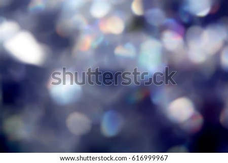 Navy blue bokeh blurry dotted glittery background #616999967