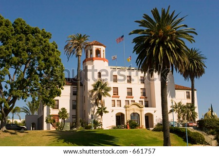 Navy Hospital, Balboa Park, San Diego, California