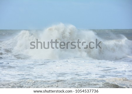 Nazare tidal wave #1054537736