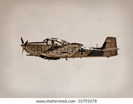 Nazi German Focke Wulf 149 fighter