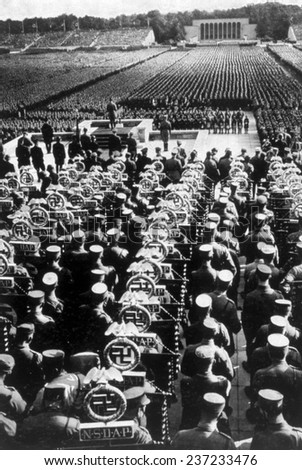 Nazi Germany Reichsparteitag Nuremberg Rally Nuremberg 1935