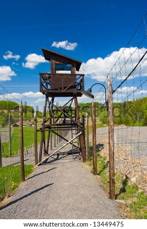 Nazism and communism concentration camp in czech republic
