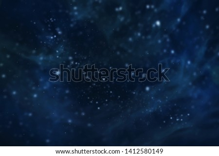 Nebula and galaxies in space Galaxy Universe filled with stars colorful Elements Cosmic abstract background.