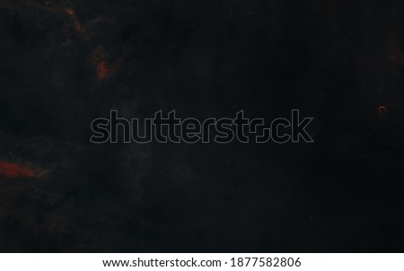 Nebulae, voids, deep space landscape. Science fiction. Elements of this image furnished by NASA Stockfoto ©