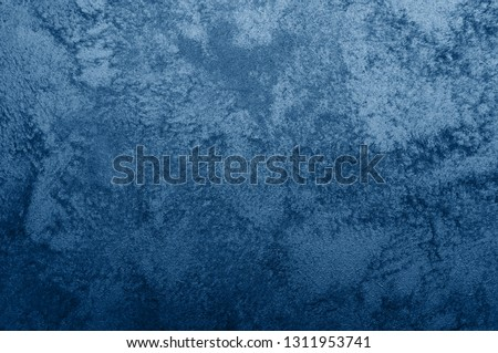 Nebules blue texture decorative Venetian stucco for backgrounds #1311953741