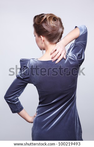 Neck pain caused by office work