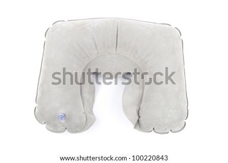 Neck pillow - isolated on white background