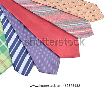 Neck Tie Array ( Business Fashion Concept )