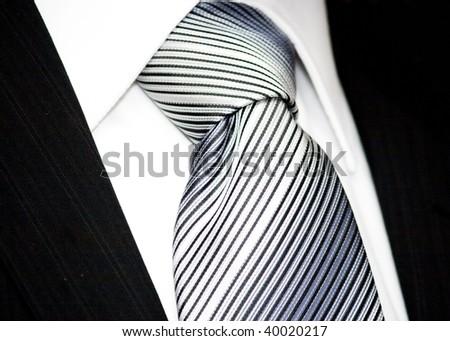 neck tie isolated on white