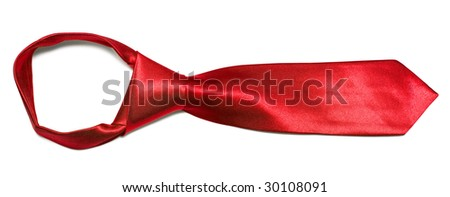 Neck tie isolated on white background
