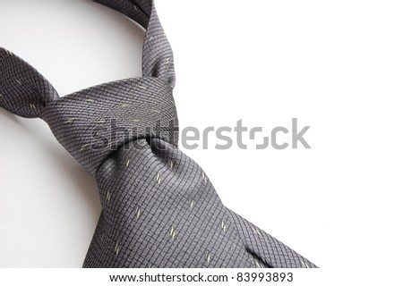 necktie isolated on white
