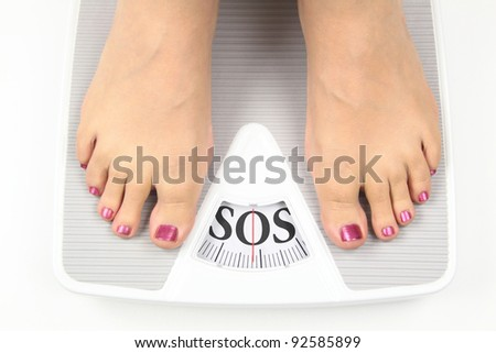 Need diet - stock photo