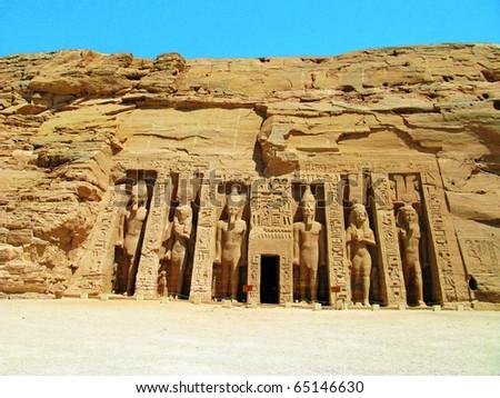 Nefertari Temple in Abu Simbel