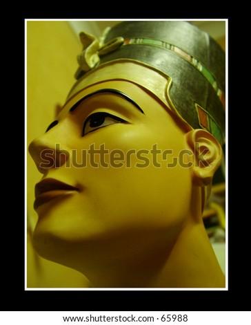 Nefertiti - stock photo