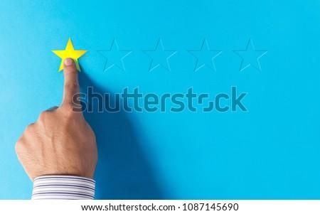Negative feedback - hand choosing 1 star rating
