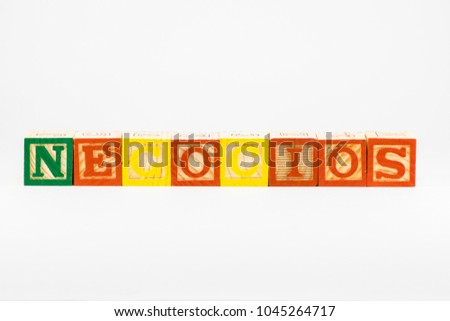 Shutterstock Negocios, 'Business' in Spanish, Common Business Term