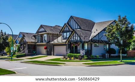 Neighborhood in Surrey, Vancouver, BC, Canada #560860429