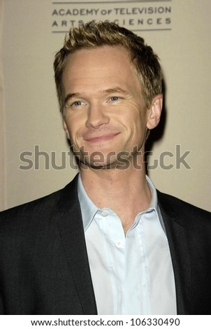 Neil Patrick Harris at An Evening with the cast of How I Met Your Mother Leonard H Goldenson Theatre North Hollywood CA 01-27-09