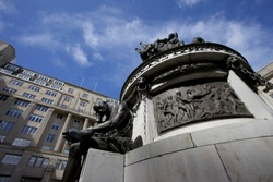 Nelson Monument, Exchange Flags, Liverpool