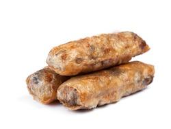 Nem. Homemade spring rolls. Vietnamese cuisine, group of food