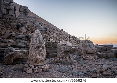 Nemrut Mountain, Adiyaman, Turkey