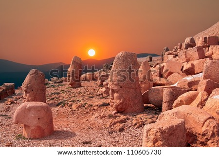Nemrut, the most beautiful sunset in the world