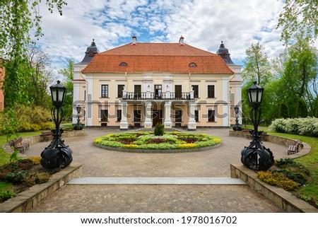 Nemtsevich Manor House in Skoki, Skokie village, Brest region, Belarus.  Zdjęcia stock ©